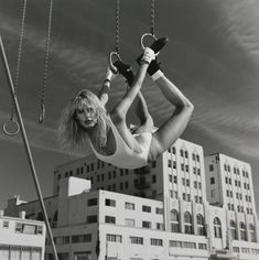 Daryl Hannah photograph by Helmut Newton for Vanity Fair, Los Angeles, 1984