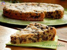 Torta cookies, ricetta golosa