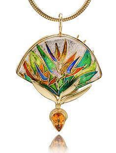 Google Image Result for http://www.cloisonneenameljewelry.com/jewelry/Double-Bird-of-Paradise-Pe2.jpg