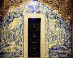 Painel de azulejos portugueses, séc. XVIII, Igreja do Convento da Conceição, Beja.