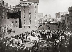 Pin By Vic Ooton On 19th Century Cattle Industry Pinterest Showing Livestock Chicago And Yard
