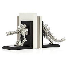 Stegosauras Bookends | Books & Stationery | Novelty | Decor | Z Gallerie