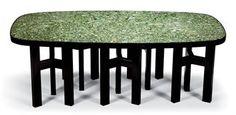 ADO CHALE (NE EN 1928)   TABLE DE SALLE A MANGER, VERS 1970