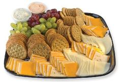 My typical dinner: cheese, crackers, grapes and a salad. Nothing better