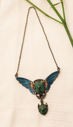Egyptian Revival Scarab/Beetle Adornment