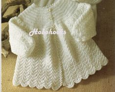 Child Knitting Sample Child Matinee Coats Child Matinee Jackets Child Cardigans inches 2 Ply Child Knitting Patterns PDF Immediate Obtain Baby Knitting Patterns, Crochet Mittens Free Pattern, Crochet Hat With Brim, Knit Headband Pattern, Coat Patterns, Knit Or Crochet, Baby Patterns, Crochet Baby, Crochet Patterns
