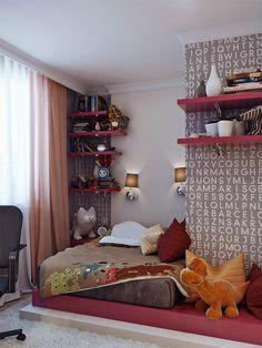Para decorar o seu quarto: parede de letrinhas