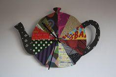 Teapot clock. Made by Siiri Viljanen