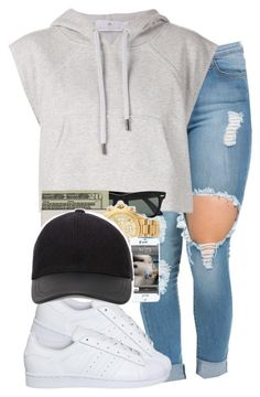 """""""Untitled #86"""" by mira-alsina ❤ liked on Polyvore featuring adidas"""