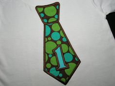 BOYS Brown Blue Green Dots First Birthday by PickleBeanBoutique, $17.99    Getting one of these for Aidyn! (: