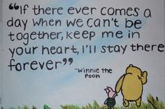 Quotes like these are why I picked Winnie the Pooh for my sons nursery. He's such a wise little bear.