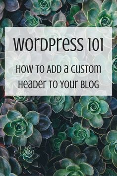 New to blogging? Brand your blog and check out this easy tutorial on how to add your own custom header to your blog!