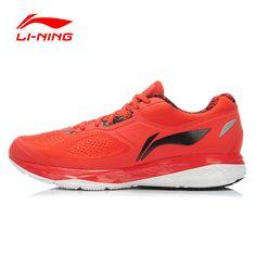 Li-Ning 2016 Running Shoes Men Air Mesh Leather Lace Up 3M Reflective Cushioning Sneakers Men Sport Shoes Li-Ning ARHK007 XYP255