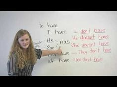 English Grammar - Have, Has, Had.    Use 'has' for singular he & she. To negate: He/She doesn't have.    Use 'have' for I, they, & we. To negate: I/They/We don't have.    Had is past tense. Use 'had' for all pronouns: I/He/She/They/We had a bat. To negate: I/He/She/They/We didn't have.