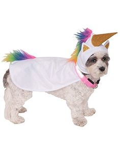 Light-up collar makes your best friend easier to see at night. Designed for the fashion forward pet, Rubie's pet costume collection features hundreds of non-licensed and licensed costumes including: Star Wars, Batman, Superman, Hello Kitty, Ghostbusters, Elvis and The Wizard of Oz. The vast... more details available at https://perfect-gifts.bestselleroutlets.com/gifts-for-pets/for-cats/product-review-for-rubies-costume-company-unicorn-cape-with-hood-and-light-up-collar-p