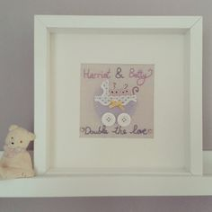 Personalized New Baby Twins Gift  Present for by Madebylotties