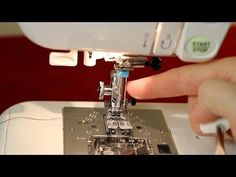 How to Use a Twin Needle on Your Sewing Machine - YouTube