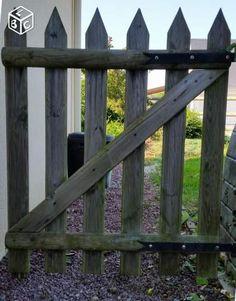 portillon en bois de palette inspiring ideas pinterest pallets gate and pallet furniture