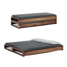 Por si algun dia tenemos invitados // guest Bed by Hertel Klarhoefer Industrial Design http://www.suiteny.com/products/beds/guest/429/