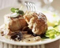 Paupiettes de veau au vin blanc et champignons Ingrédients