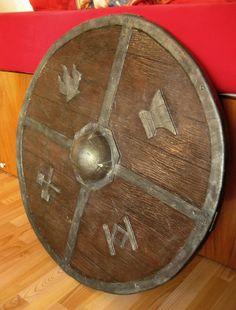Dwarven LARP shield by tanjaESK