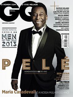 Pelé, o grande homenageado do Men of the year - DEZEMBRO 2013