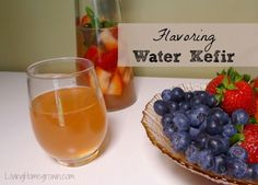 Learn all the fun ways you can flavor homemade water kefir and how to get more fizz in your beverage.