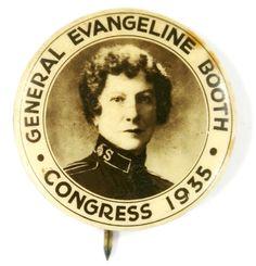 General Evangeline Booth - 1935 Congress Salvation Army