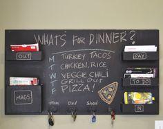 chalk menu board | chalk menu board! | organization