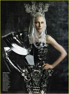 Vogue 2006 in John Galliano Haute Couture