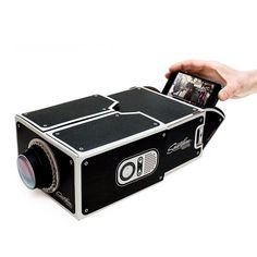 Smartphone Home Movie Projector