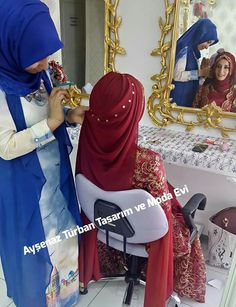 Hijab Gown, Hijab Style Dress, Turban Hijab, Stylish Hijab, Hijab Chic, Muslim Wedding Dresses, Muslim Dress, Hijab Bride, Girl Hijab