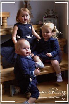 George Cammi Luca von Ping Lau reborn artist Andrea Heeren rebornDELUXE Reborn Baby Boy Dolls, Baby Girl Dolls, Reborn Babies, Baby Doll Nursery, Reborn Nursery, Life Like Babies, Silicone Baby Dolls, Lifelike Dolls, Twin Babies