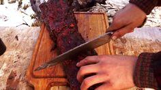 Bife de Chorizo en la NIEVE y a la Espada! Locos X el Asado