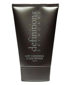 Love this Definitions Skincare 4-Oz. Deep Cleansing Scrub Refiner by Definitions Skincare on #zulily! #zulilyfinds