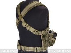 Condor Gen 5 Tactical MOLLE Recon Chest Rig - Multicam, Tactical Gear/Apparel, Chest Rigs & Harnesses - Evike.com Airsoft Superstore