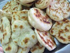 Receta de pan naan, típico de la cocina hindú
