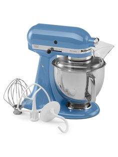 The KitchenAid Artisan Series Stand Mixer ($349.99) churns out perfect whipped cream, meringues, cookies, cakes, breads and more