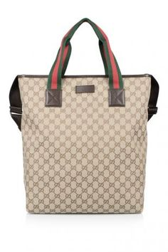 61710a4a653c Gucci Tote with Signature Web Detail (THB 36