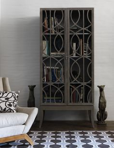 Really want this gray cabinet from Dwell Studios.