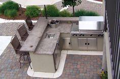 60 Amazing DIY Outdoor Kitchen Ideas On A Budget #outdoorkitchengrillspaces
