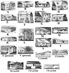 A Website With All The Richland Letter Houses Floorplans