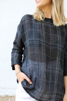 New (and FREE digital) Athina Top Pattern - Sew Tessuti Blog