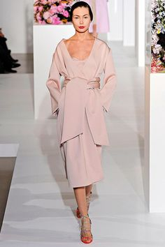 Fashion #tbt: Look by Jil Sander from the fashion house's Fall/Winter 2012 collection.