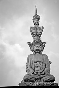 Buddha China Fine Art Print Photography Black and by MosaferPhoto, $75.00