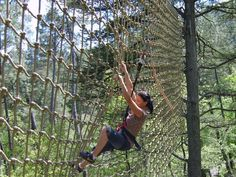 "Le Grand Bois Adventure Park"" - Tree-top adventure park"