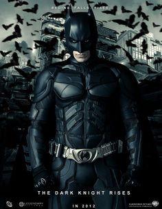 Poster The Dark Knight Rises - Batman