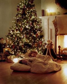 aw this will be my kids when I'm older, literally #dreamxmas