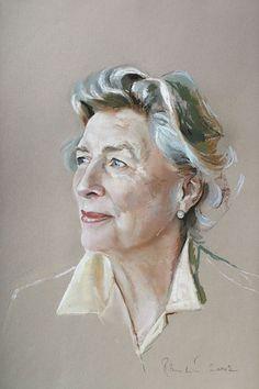 Adult portrait, pastel on Canson paper – Rob Beckett Pencil Portrait Drawing, Portrait Art, Pastel Drawing, Pastel Art, Pastel Paintings, Pastel Portraits, Watercolor Portraits, Painting People, Figure Painting