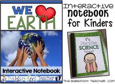 The Barefoot Teacher: Science Interactive Notebooks: Earth & Human Activity & FREEBIE